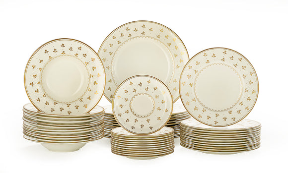 Royal Worcester Bone China Partial Dinner Service (48 pieces)