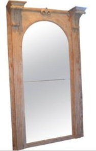 Italian, late 19th Century Architectural Mirror