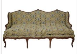 Louis XV  Canape In Walnut