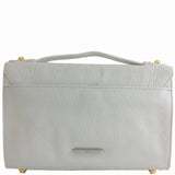 Treesje Harlow White Leather Crossbody Back
