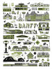 Fine-Mesh 'Banff' Tea Towel