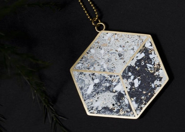 Beton Brut - Hex Necklace