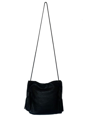 Stille Nord - Black Tassel Purse