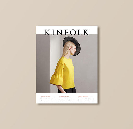 Kinfolk Magazine 'The Travel Issue'