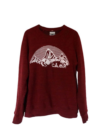 Camp Brand Mountain Arch Sweatshirt
