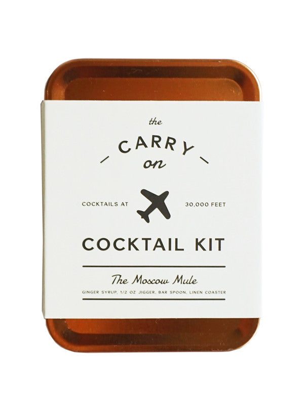 Carry on Cocktail Kit 'The Moscow Mule'