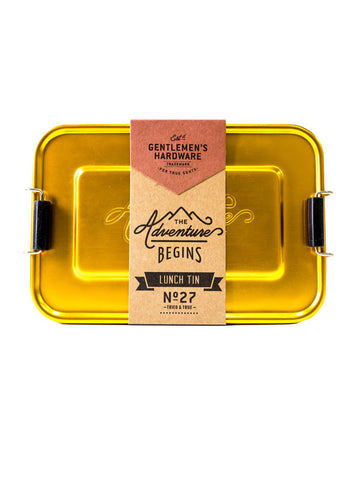 Gentlemen's Hardware - Lunch Tin