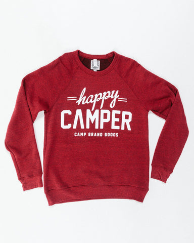 Camp Brand Happy Camper Sweatshirt