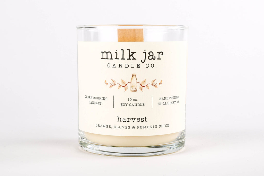 Milk Jar Candle Company - Harvest 10 oz