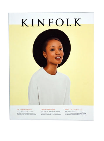 Kinfolk Magazine 'The Essentials Issue'