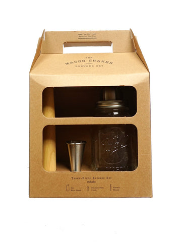 Mason Shaker Barware Set