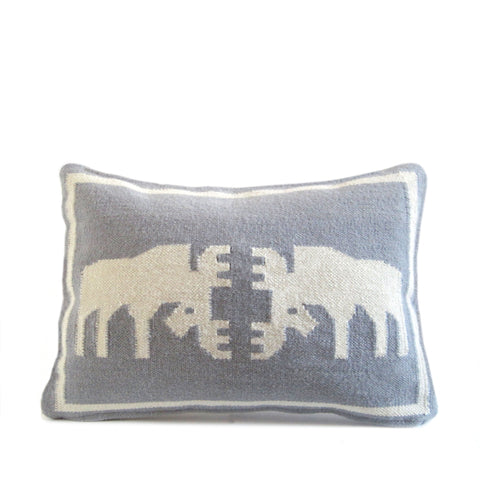 Eeuwes 'Blue Moose' Cushion