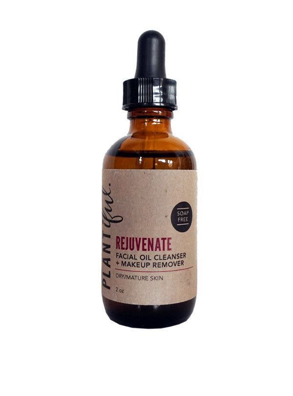 Plantiful Facial Oil Cleanser 'Rejuvenate'