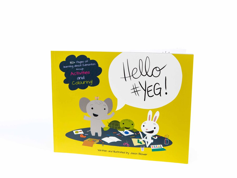 Jason Blower - Hello #YEG Activity Book