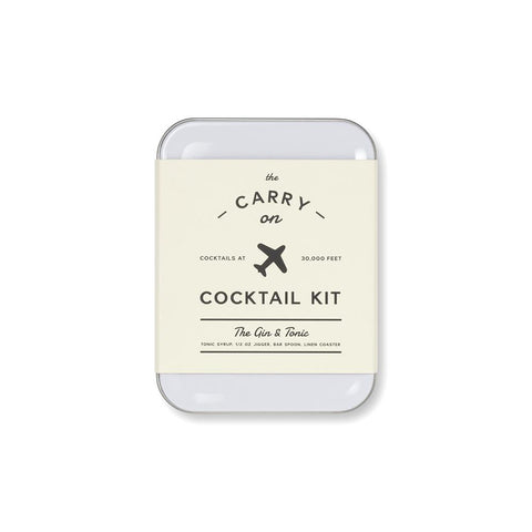 Carry on Cocktail Kit 'The Gin and Tonic'
