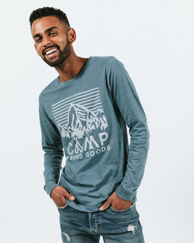 Camp Brand Heritage Logo Long Sleeve