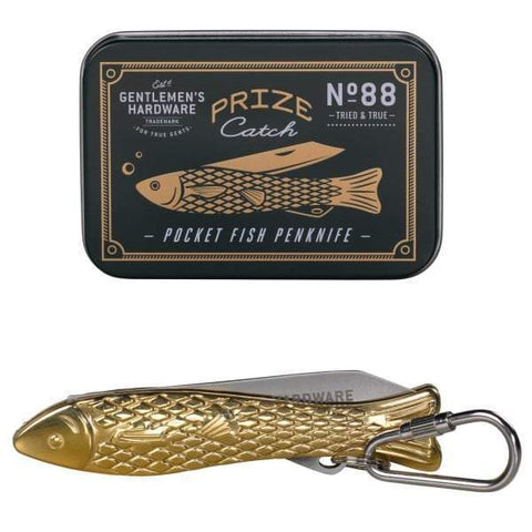 Gentlemen's Hardware- Pocket Fish Penknife