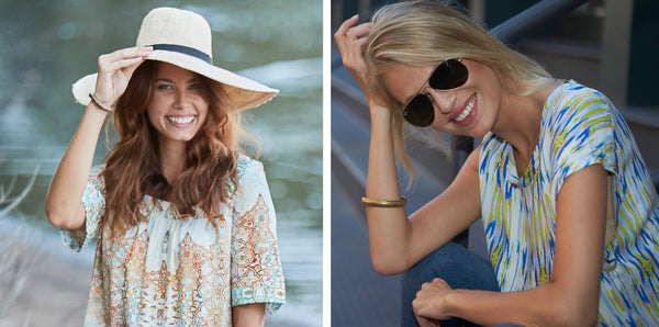 FLOPPY SUNHAT OR SUNGLASSES?