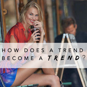 How Does a Trend Become a Trend?