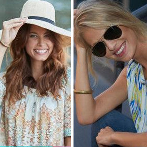SUNHAT OR SUNGLASSES?