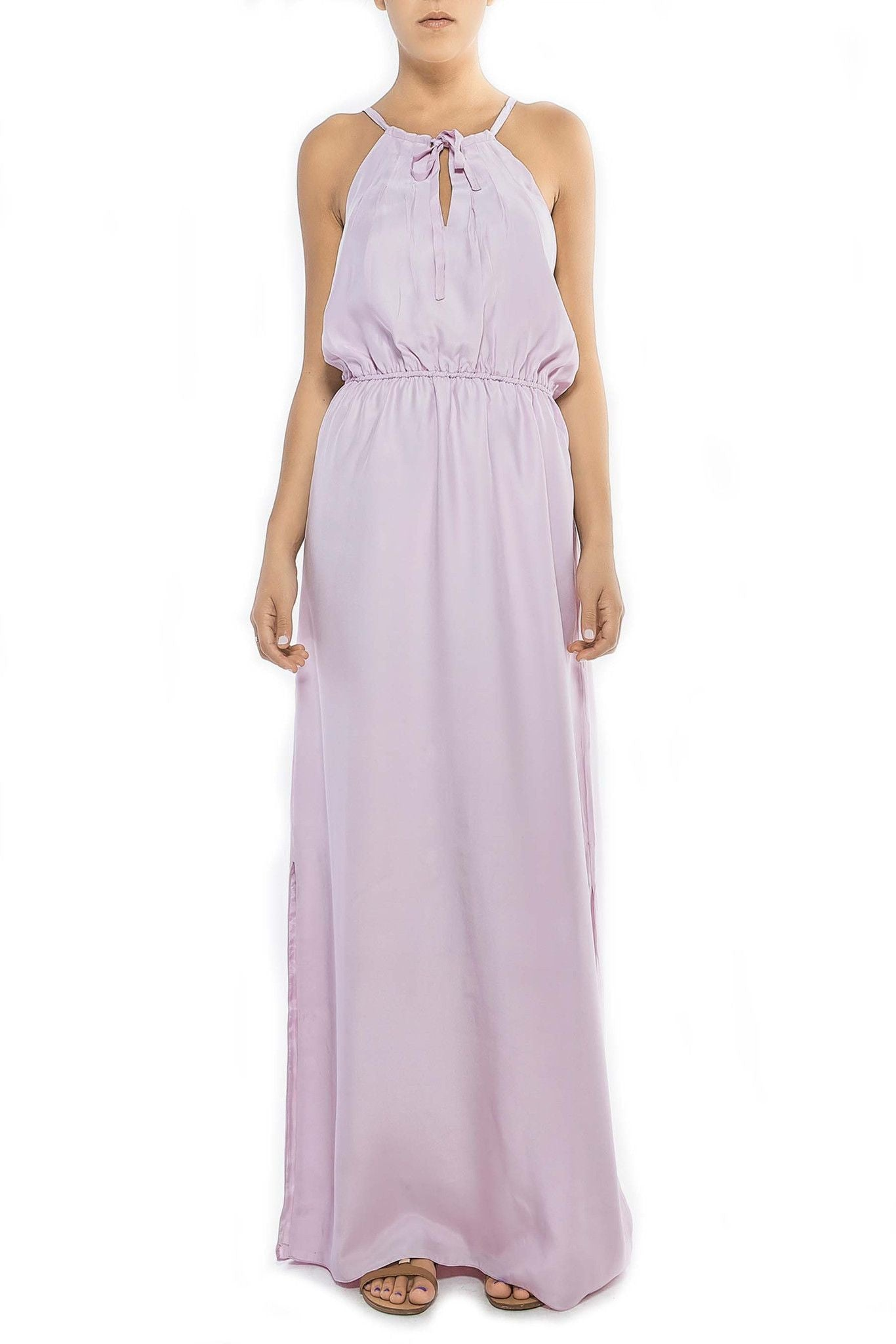 D334 FAYE MAXI CINCHED WAIST ORCHID HUSH