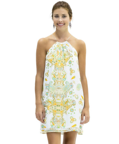 Bailey Silk Dress in Kasbah Print