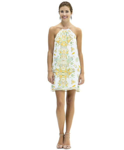 Bailey Cupro Satin Dress in Kasbah Print