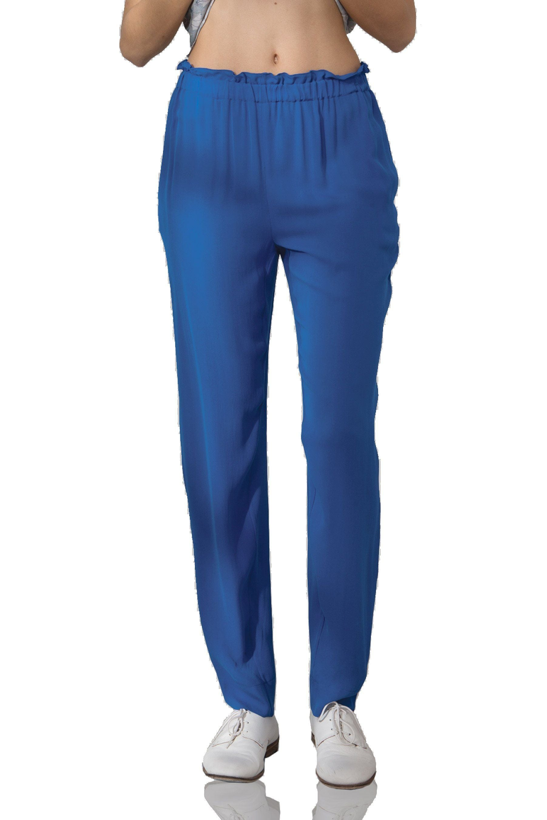 P155 SOLID DBL GGT PANT ROYALTY
