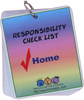 Picture Schedule for Home - Responsibility Checklist