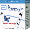 Freestyle Test Strips 50 Count - Affordable OTC