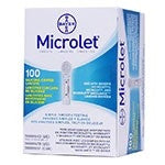 Bayer Microlet Lancets 100 Count - Affordable OTC