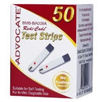 Advocate Gucose Test Strips 50ct - Affordable OTC