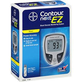 Bayer Ascensia Contour Next EZ Glucose Meter - Affordable OTC