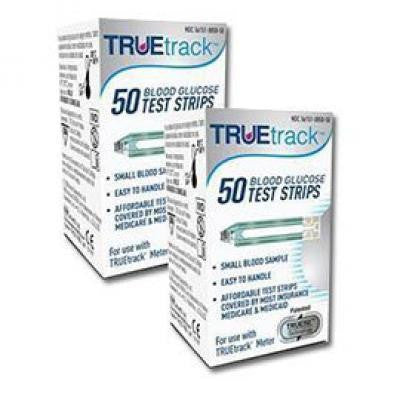True Track Glucose Test Strips 100ct - Affordable OTC