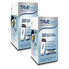 True Test Glucose Test Strips 100ct - Affordable OTC