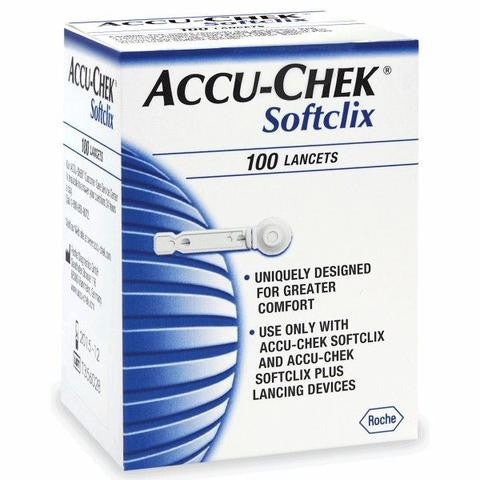 Accu-Chek SoftClix Lancets 100 Count - Affordable OTC
