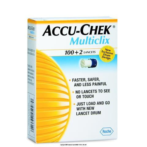 Accu-Chek MultiClix Lancets 102 Count - Affordable OTC