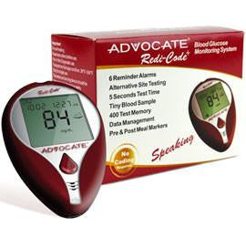 Advocate Glucose Meter - Affordable OTC