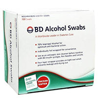 BD Alcohol Swabs - Affordable OTC
