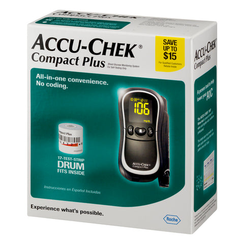 Accu-Chek Compact Plus Meter Kit - Affordable OTC