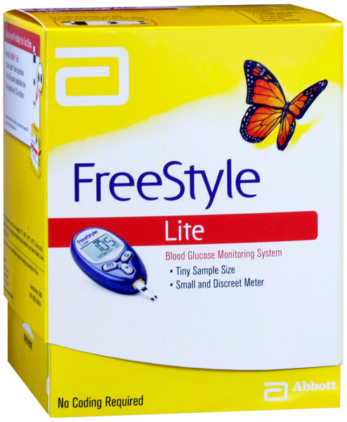 Freestyle Lite Blood Glucose Meter - Affordable OTC