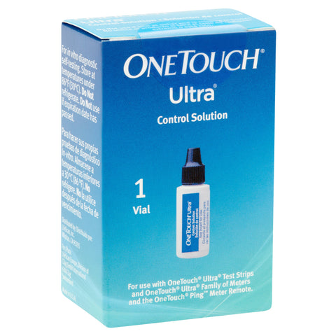 OneTouch Ultra Control Solution - 1 Vial - Affordable OTC