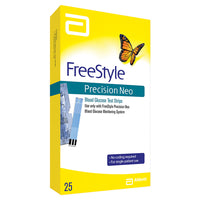 Freestyle Precision Neo Test Strips - 25 ct - Affordable OTC