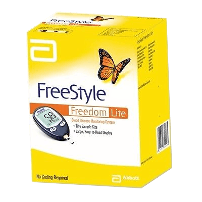 Freestyle Freedom Lite Glucose Meter - Affordable OTC
