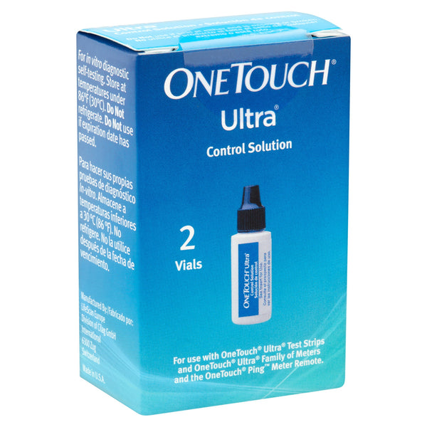 OneTouch Ultra Control Solution - 2 Vials - Affordable OTC
