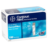 Bayer Ascensia Contour Next 100 Test Strips - Affordable OTC