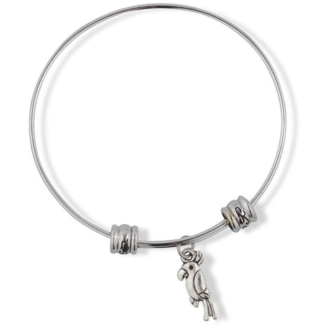 Cockatiel Parrot Bird Fancy Charm Bangle