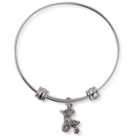 Baby Carriage Fancy Bangle