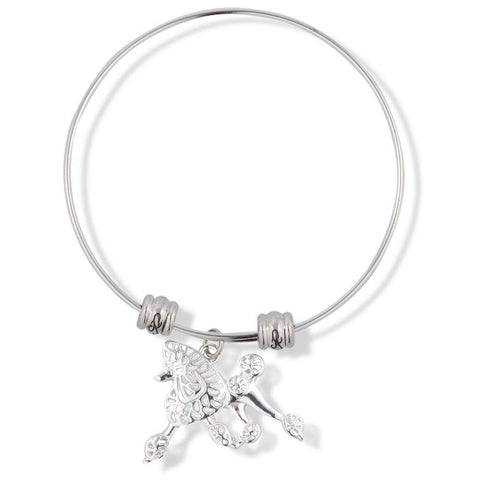 EPJ Poodle Dog Fancy Charm Bangle
