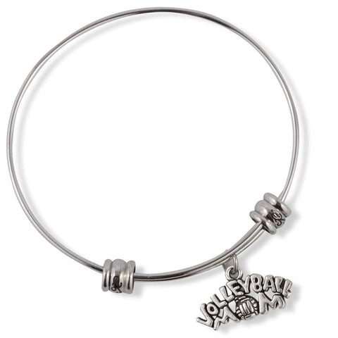 Volleyball Mom Fancy Bangle